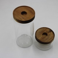 Borosilicate Glass Airtight Suction Lid Glass Jar With Lid For Food