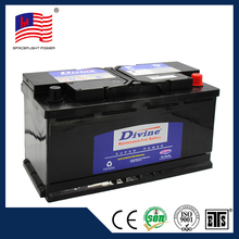 MF60038 auto car battery container 12v 100ah