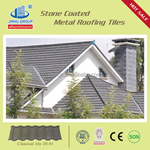 villa building material color stone coated steel roofing sheet / bond shingle shake classic / stone caoted steel roof tile