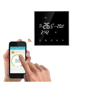 WiFi Thermostat Remote Control for Electric Floor Heating 16A Underfloor Infrared Heater Temperature Controlled by Phone