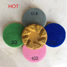 Hot China Factory Diamond Concrete Floor Polishing Pads