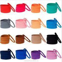Cute Hair Accessories Opp Bag Pack Baby Girl Elastic Solid DIY Headband For Kids Headwear
