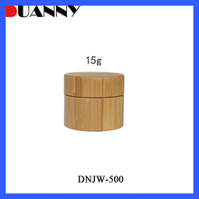 15g 20g 30g 50g 100g 150g Small Real Wood Bamboo Wooden Cosmetic Jars Container