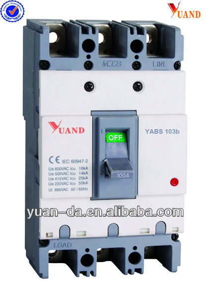 ABS moulded case circuit breaker siemens mccb