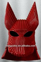 1:1 Latex Bust Dracula Red Armour Helmet Mask Movie Prop Replica Bram Stoker Halloween
