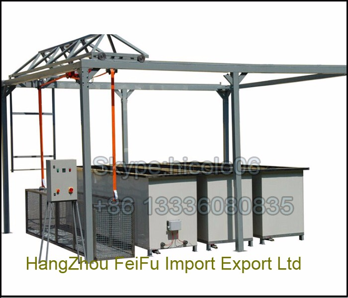 Electrostatic Powder Coating Oven For Sale With Racks