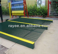 358 Security Fence / Anti Climb Fence / Prison Fence GS(green RAL6005, white RAL9010) Temporary fence / muro con pliegues