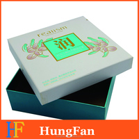 2016 custom paper box gift box packaging box with Hot stamping Logo
