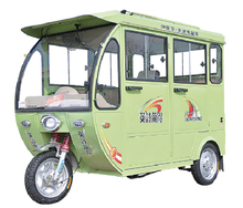 electric passenger auto rickshaw/motor tricycle Taxi /3 wheel electric motorcycle
