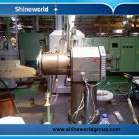 continuous metal lead sheath extruder machine for wire and cable