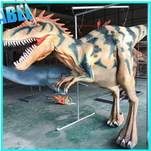 Abel T-rex-89 March red hidden legs Artificial realistic dinosaur costume for sale