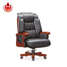 Hot genuine leather large office chairs for big man (A - 035)