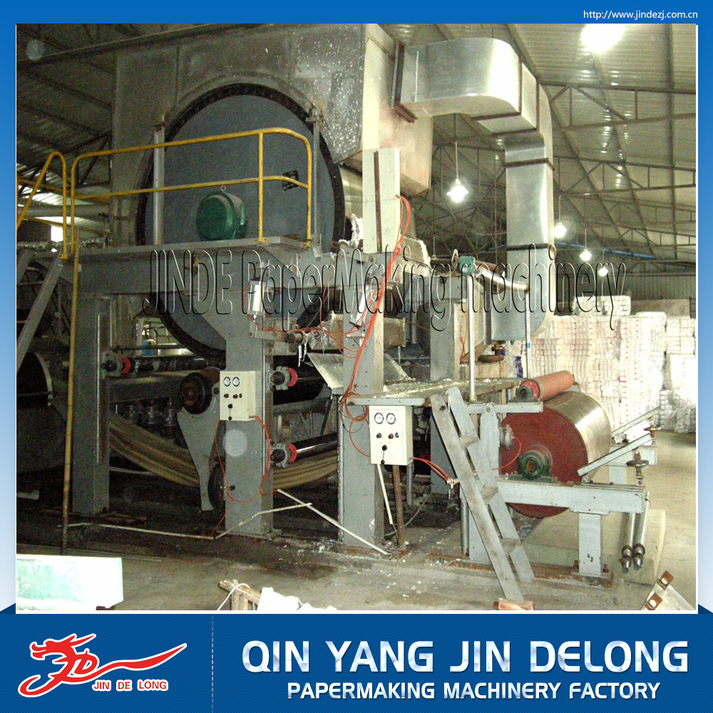 Manufacturers selling high quality high speed tissue paper machine