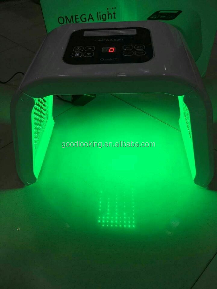 Hottest Home use LED Skin Rejuvenation Omega light 4 color led light therapy machine