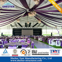 L series clear span structure fireproof marquee tent for hire business all outdoor event