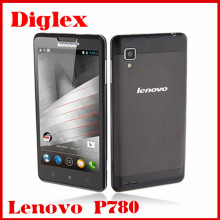 Lenovo P780 Smartphone 5.0 Inch MTK6589 Quad Core Android 4.4 Mobile Phone Dual Sim Android Phone 8MP Camera 3G Cell Phone