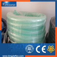 High Pressure Braid Water Line Clear Hose Reinforced PVC Hose Pipe Tubing