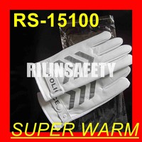 RILIN SAFETY uniform marching band parade gloves ,impact resistant gloves finger protection