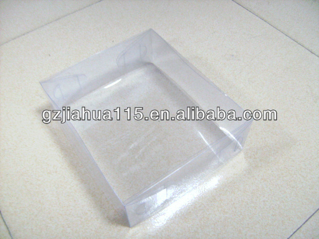 plastic hard pvc box for retail packing