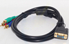 Colorful VGA RCA S-Video AV Adapter RCA to VGA Converter Cable
