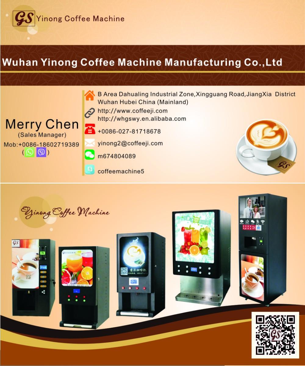 vending cappuccino machine