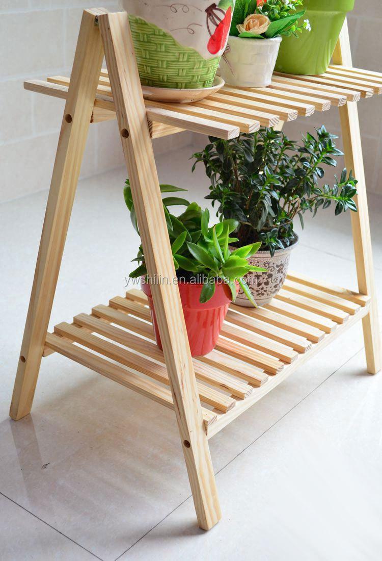 Wooden flower stand wooden flower pot stands wooden - Wooden flower pot designs ...