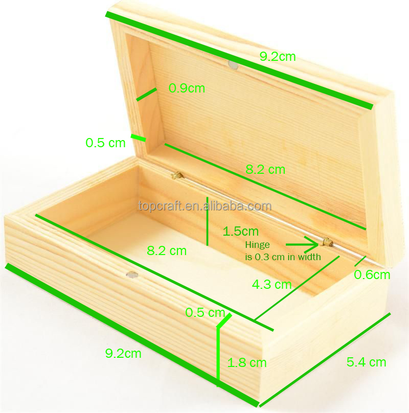 Modern Simple Cheap Wooden Storage Box