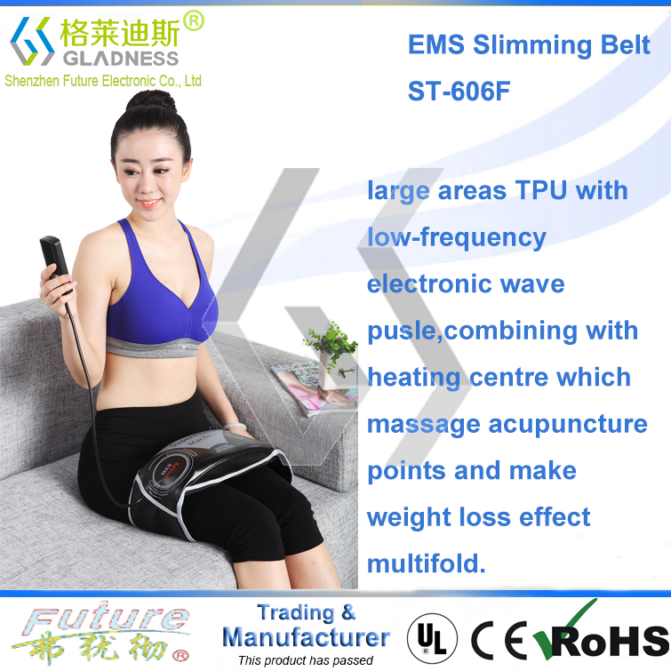 2016 Intelligence Vibration Waist Fitness Massage Slimming Belt