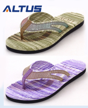 Hot sale fashion Customized EVA+PU beach walk slipper