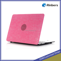 Hot Sale New Honeycomb Hole Jean Pattern Hard Shell Plastic Case Print for MacBook Air 11.6 13.3 Pro Retina 12 13 15 Cover