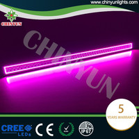 "New superbright dual row 50"" offroad bar light 12V led color changing light bar"