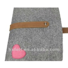 Practical Felt Promotion Bag For Laptop With Beautiful Decoration