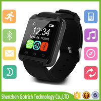 New item 2016 portable speaker watch 4g watch phone for wholesales u8 smart watch android wearable devices