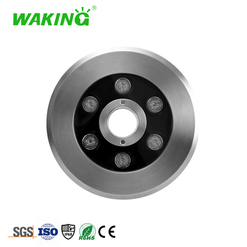China product factory prices stainless steel 304 RGB led underwater fountain waterproof light