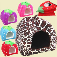 cheap wholesale colored pet house pet products fabric pet cat house