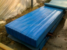 Film covered corrugated sheet price / pre painted galvanized steel sheet