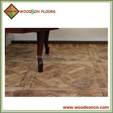Versailles parquetry UK style solid oak wood parquet flooring