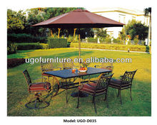 Outdoor Umbrella Tent Best for Outdoor Rattan Table and Chairs at UGO Outdoor Furniture