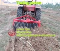 Paddy field farm tractor mounted small ploughing machine