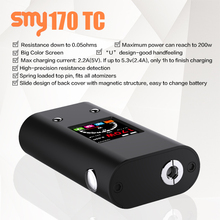 vape best selling products vape smy 170w tc box mod,sapphire e cigarette,avatar e-cigarette/e cigarette made in japan