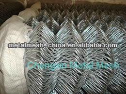 Garden Buildings chain link fence/PVC coated/ diamond wire mesh sports court fence