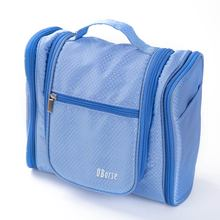 New Travel hanging wash toilet Bag Makeup train Storage Case toiletry bag with hanging pothook