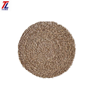 cheap seagrass mat coffee table placemats decorative woven straw mats wholesale for tableware