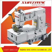 SZ1408P 8 needle Flat bed double chain stitch industrial sewing machine