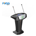 Digital lectern with good quality stainless steel podium for school and conference