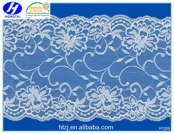 Eco Friendly Spandex Bridal Lace Trim Garment Accessorries