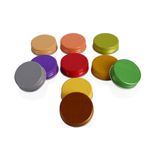 Alibaba China suppliers bottle jar using diameter 28mm aluminum screw cap lid bottle closures