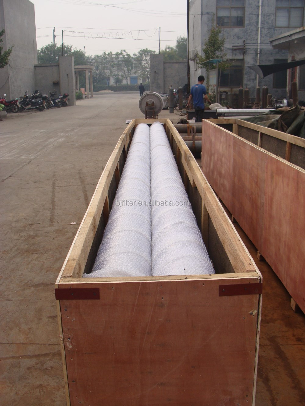 Wire wound cores/wood filter/johnson wedge wire welded filter