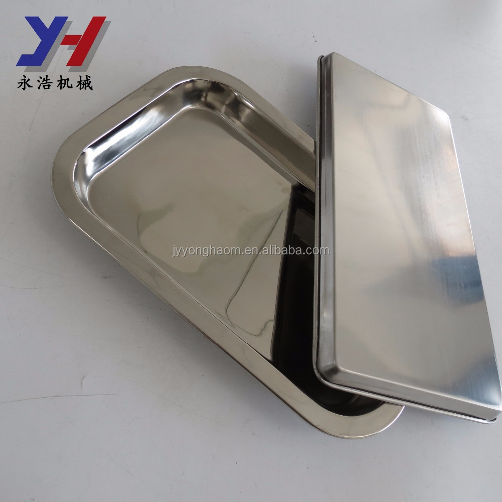 Custom made high quality stainless steel drying tray drip tray with drain