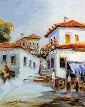 Giclee Print, Greece Painting